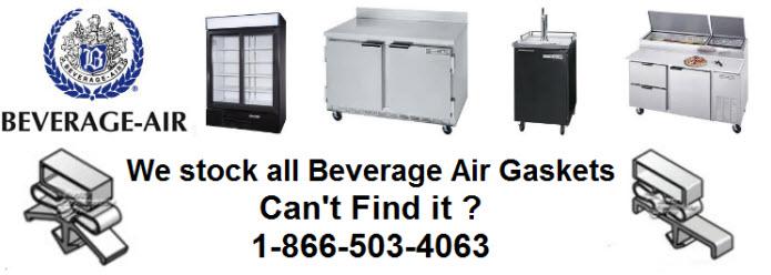 beverage air parts- hinges and door seals gaskets on